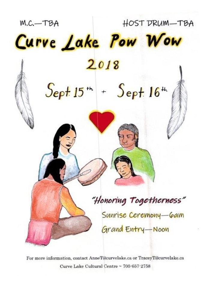 CLFN Pow Wow Poster 2018